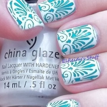 Stamping Sunday 11-30-2014 nail art by Jenette Maitland-Tomblin