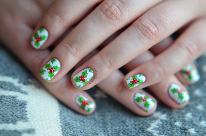 It's Christmass time nail art by 9th Princess