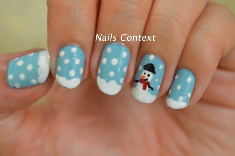 Snow Much Fun nail art by NailsContext