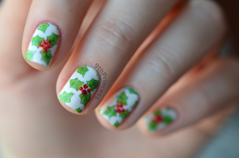 It's Christmass time #2 nail art by 9th Princess