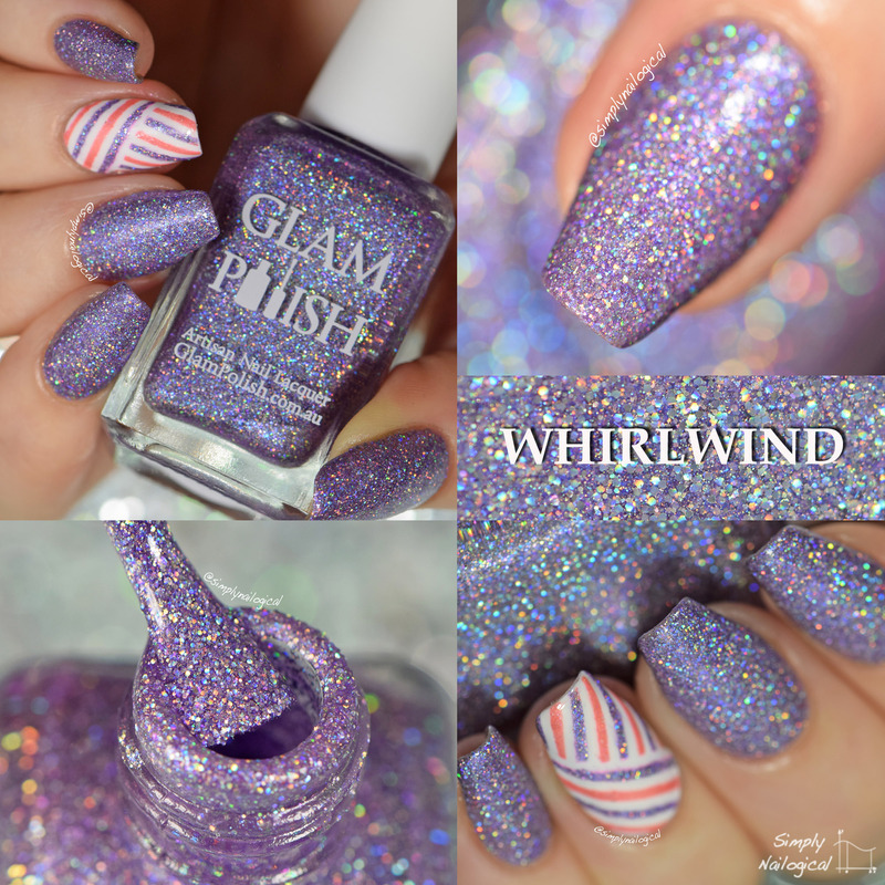 Glam Polish Whirlwind Swatch by simplynailogical