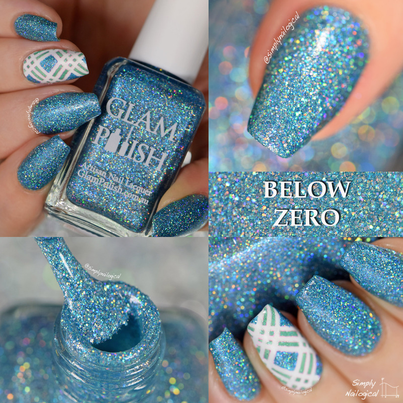 Glam Polish Below Zero Swatch by simplynailogical