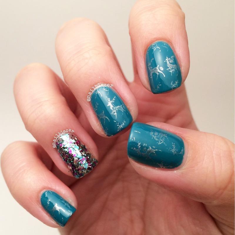 Ciate Advent (Mini Mani Manor) Day 1 nail art by Nailblazer