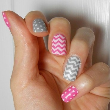 Mix and Match nail art by Polishisthenewblack