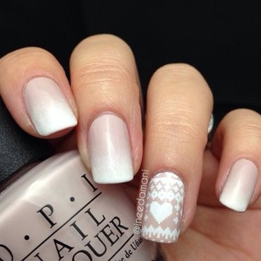Girly Sweater Nails nail art by Carmen Ineedamani