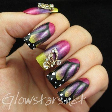Featuring born pretty store butterfly wing nail decorations 1 thumb370f