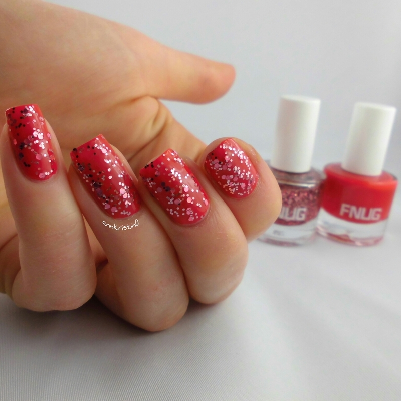 FNUG Fashion Blogger and FNUG Luxe Touch Swatch by Ann-Kristin