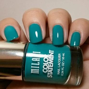 Milani tattle teal Swatch by Moni'sMani