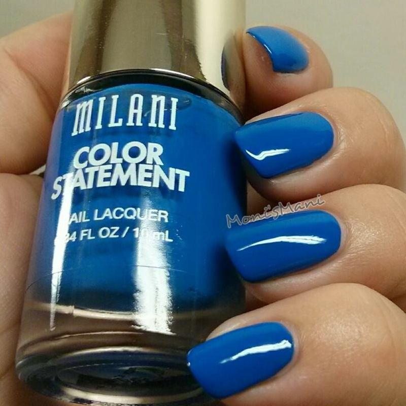 Milani blue print Swatch by Moni'sMani