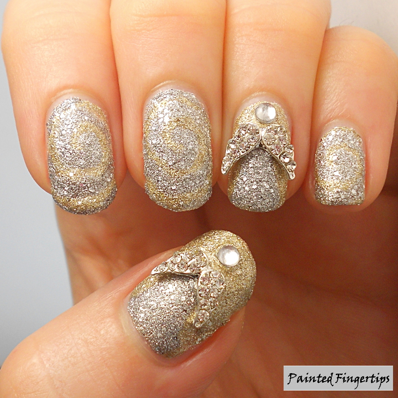 Angels nail art by Kerry_Fingertips