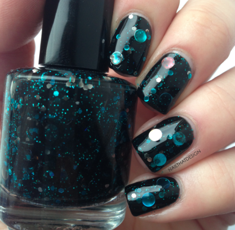 Foxy Paws Dancing in The Moonlight Swatch by NailThatDesign