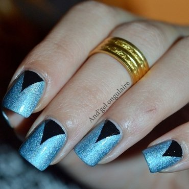 Catrice & V-Moon nail art by And'gel ongulaire