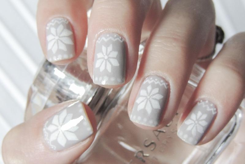 Winter nail art by Magdalena