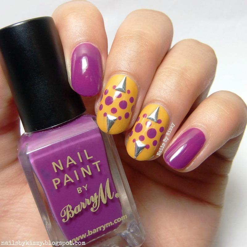 Triangle Studs Nail Art nail art by Kizzy