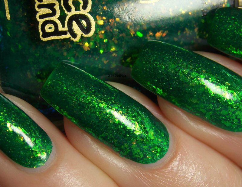 Dance Legend Tinsel Swatch by greeench