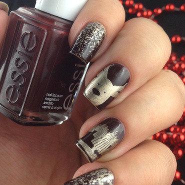 Christmas Nails nail art by Natasha