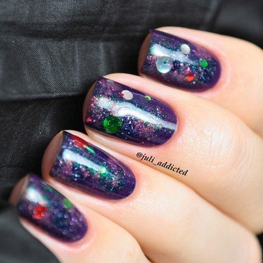 #45 nail art by Juli