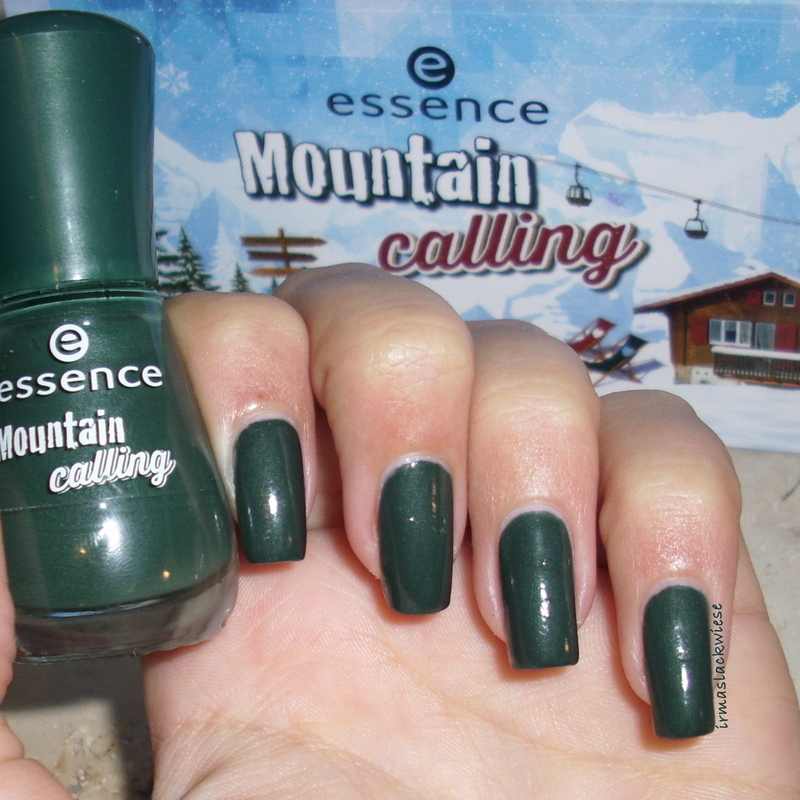 Essence mountain calling 02 we love winter holidays! Swatch by irma