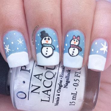 Snowman mani thumb370f