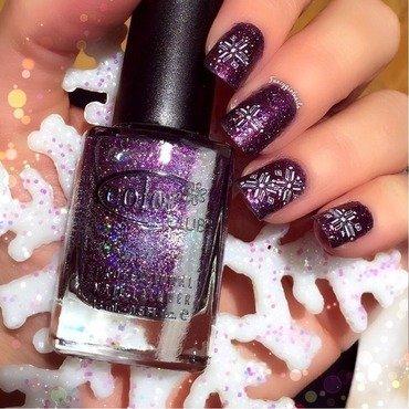 Sparkle nail art by Anna-Maria D