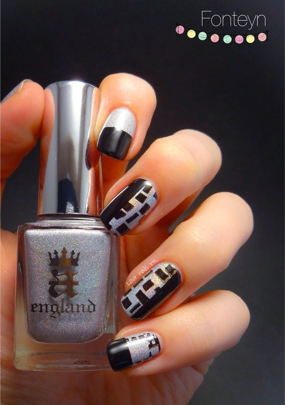 Geometric nail art by Love Nails Etc