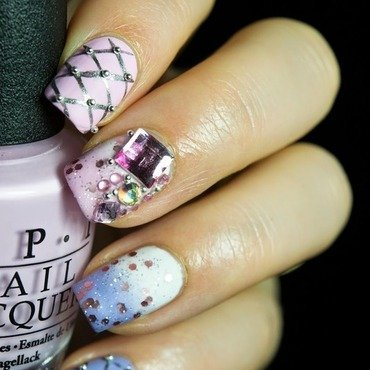 Cute pink nail art 6 thumb370f