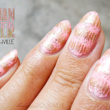 Bohemian Summer nail art by Lacqueerisa