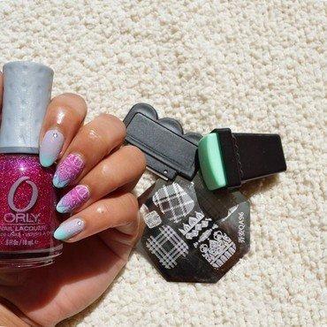 Stamping oriental nail art by MimieS Nail
