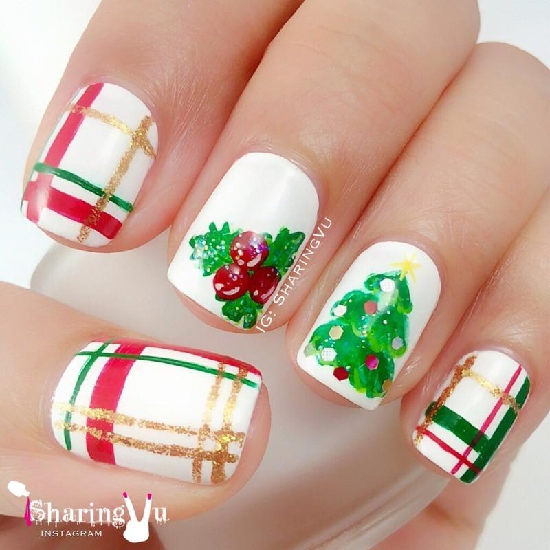 🎄 Merry Christmas 🎄 nail art by SharingVu