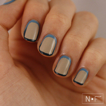 Surrounded by winter nail art by NerdyFleurty
