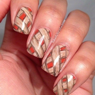 Pumpkin pie nail art pic1 thumb370f