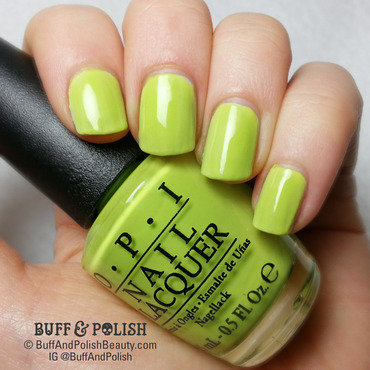 OPI Life Gave Me Lemons Swatch by Buff & Polish