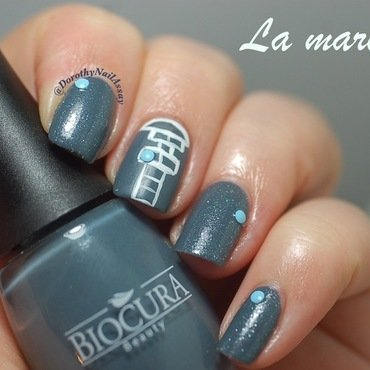 Hopscotch/ marelle nail art nail art by Dorothy NailAssay