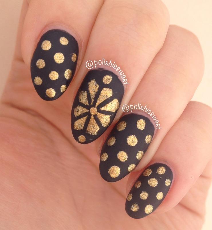 Winter Nails! nail art by PolishIsSweet