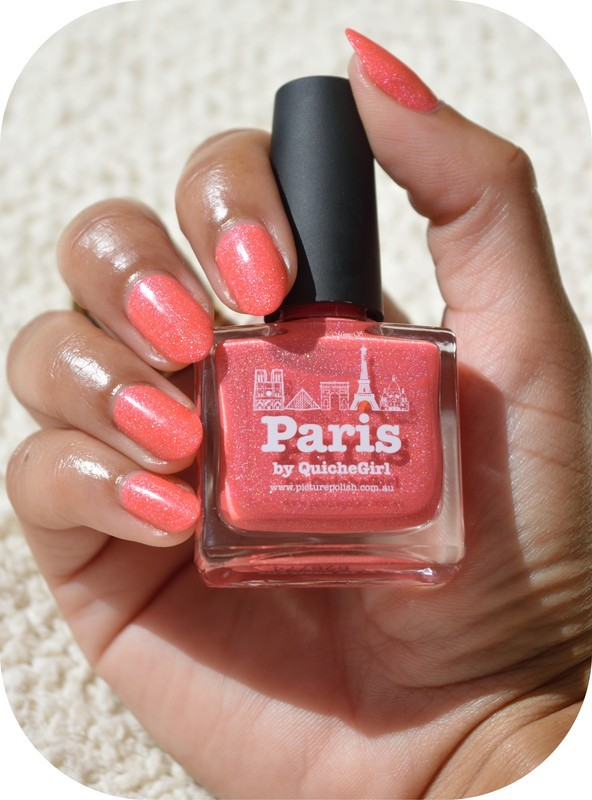 piCture pOlish Paris Swatch by MimieS Nail