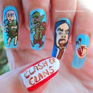 Clash 20of 20clans 20nailart thumb370f