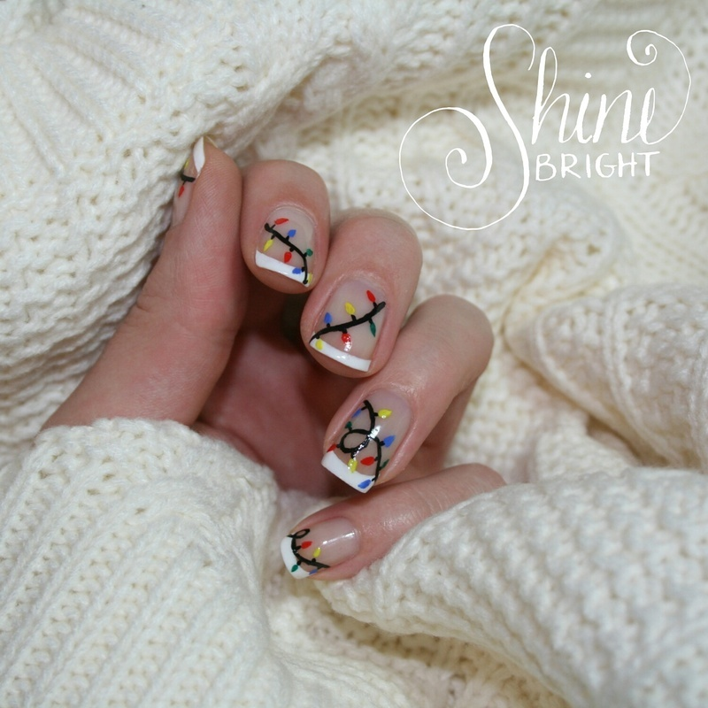 Shine Bright nail art by Polishisthenewblack