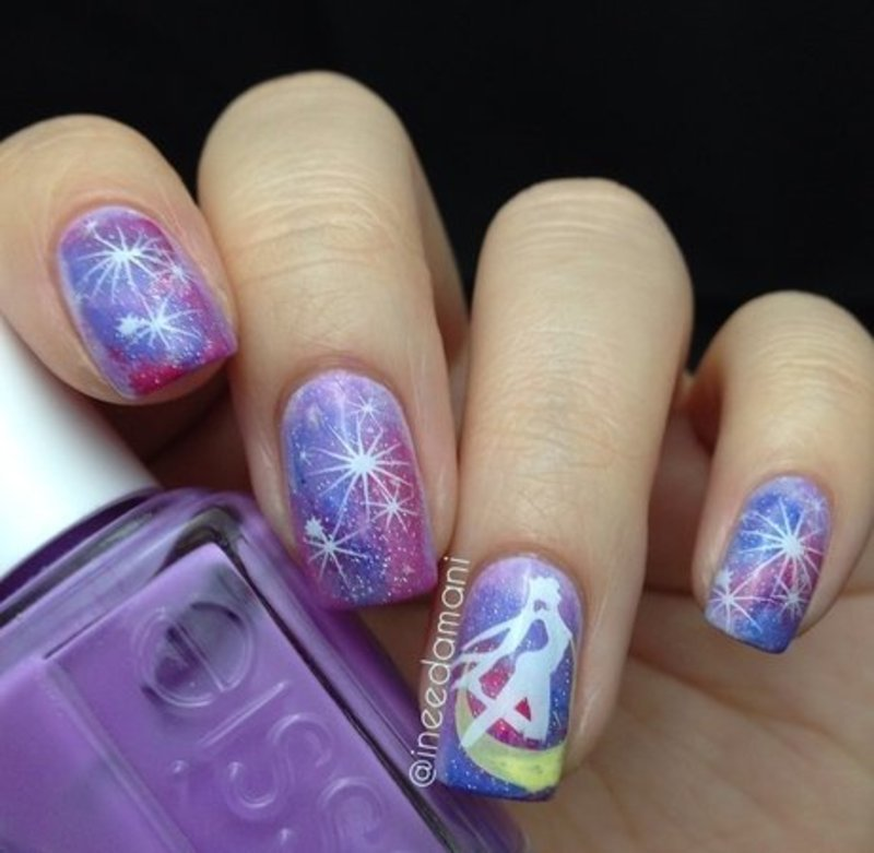 Sailor Moon Nail Art By Carmen Ineedamani Nailpolis