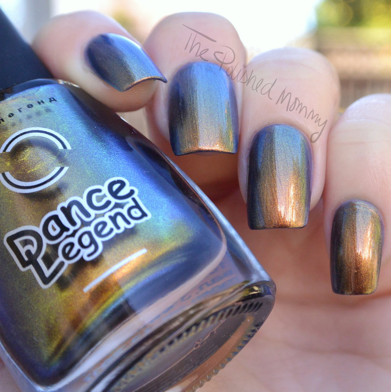Dance Legend the knight Swatch by The Polished Mommy