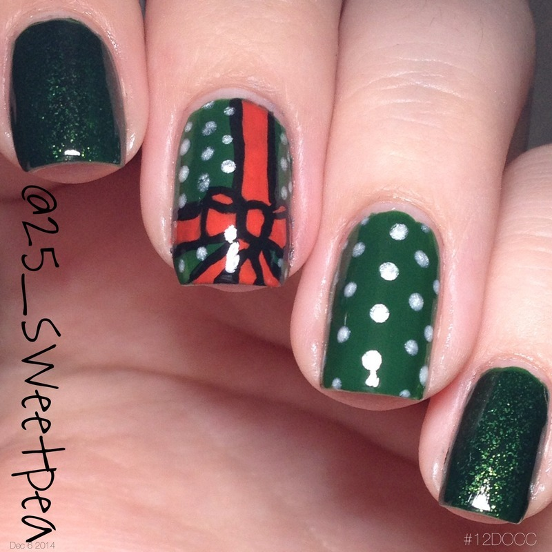 Wrapped Up nail art by 25_sweetpea