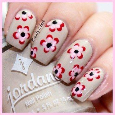 Chiffon nail art by Beauty Intact