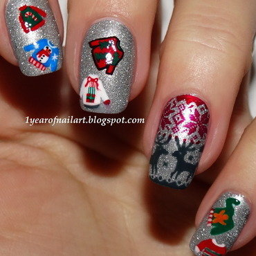 Ugly 20christmas 20sweater 20nail 20art thumb370f