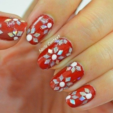 Festive Nail Art nail art by NailsContext