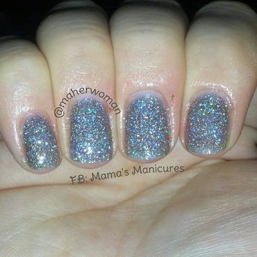 OPI My Voice is a Little Norse Swatch by Mama's Manicures (maherwoman)