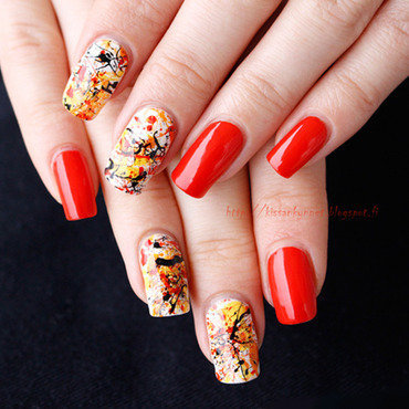 Splatter nails autumn np thumb370f