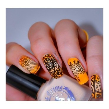 Savannah nails nail art by Love Nails Etc