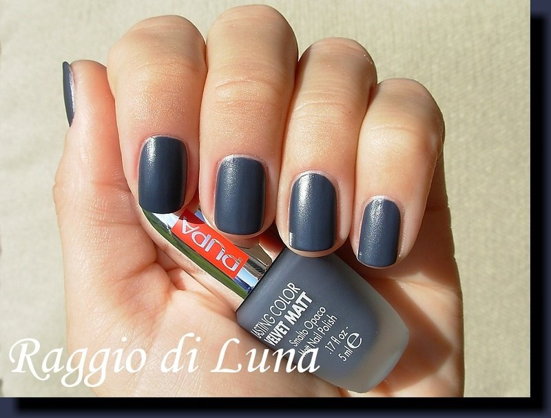 Pupa Velvet Matt n°007 Grey Blue Swatch by Tanja