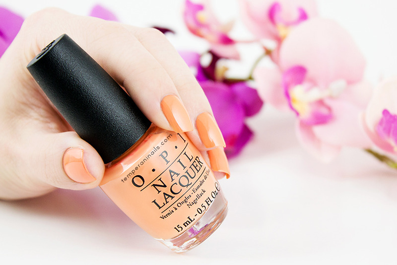 OPI Is Mai Tai Crooked? Swatch by Temperani Nails