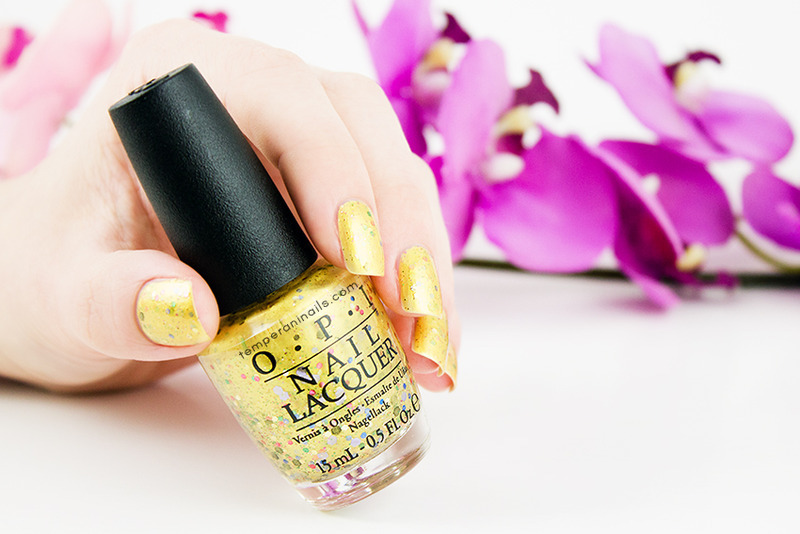 OPI Pineapples Have Peelings Too! Swatch by Temperani Nails