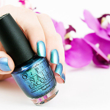 OPI This Color's Making Waves Swatch by Temperani Nails